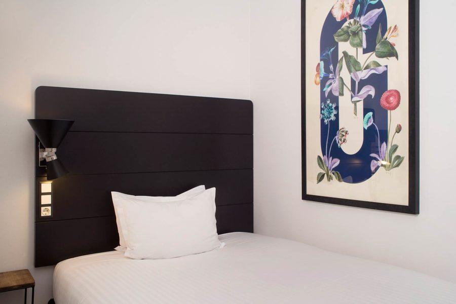 Kadunpuoleinen kahden hengen huone © Praktik Hotels