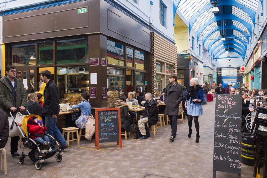 Brixton Village -kauppahalli © tripsteri.fi / Milla Kontkanen