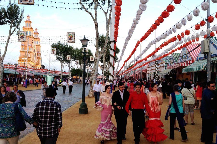 Sevillan Feria de Abril. Kuva: Edmund Gall, flickr.com, CC BY-SA 2.0