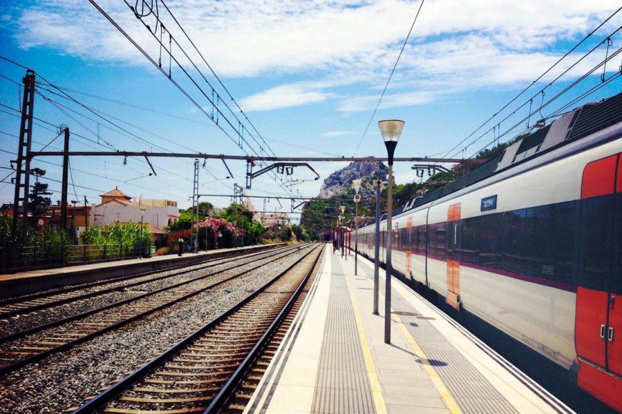 Garrafin juna-asema. © tripsteri.fi / Tuulia Kolehmainen