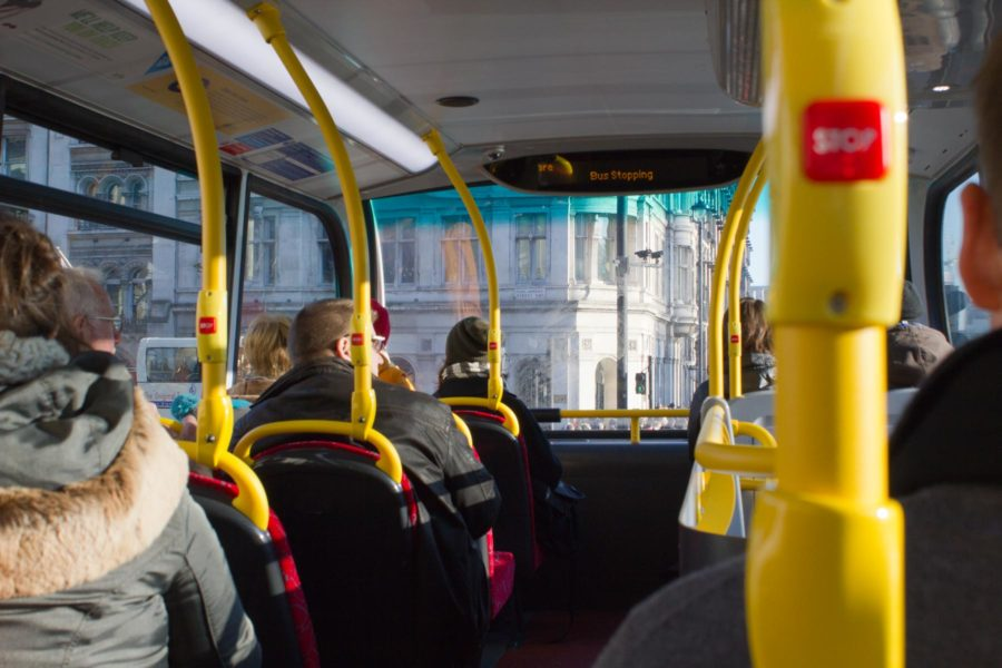 Lontoon bussin toisesta kerroksesta näkee hyvin © tripsteri.fi / Milla Kontkanen