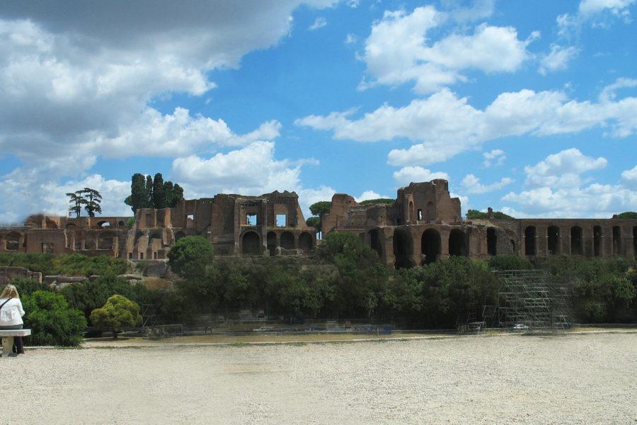 Keisaripalatsien raunioita Palatinuksella © Rennet Stowe Flickr.com CC