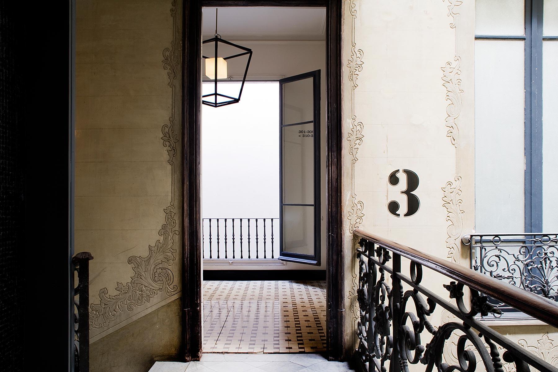 Hotellin käytävillä. © Praktik Rambla
