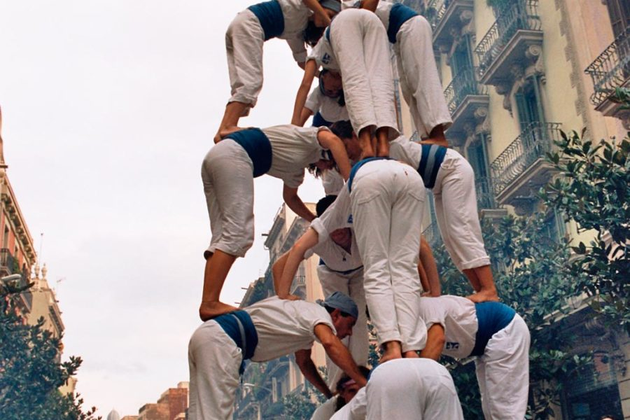 Ihmistornien rakentamisella on pitkät perinteet Kataloniassa © tripsteri.fi / Tuulia Kolehmainen