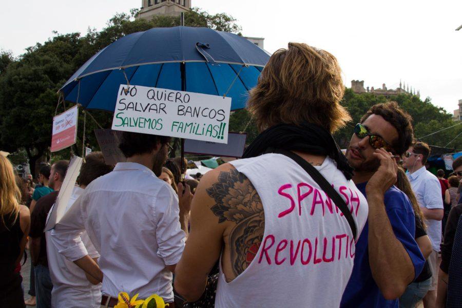 Spanish Revolution. © tripsteri.fi / Tuulia Kolehmainen