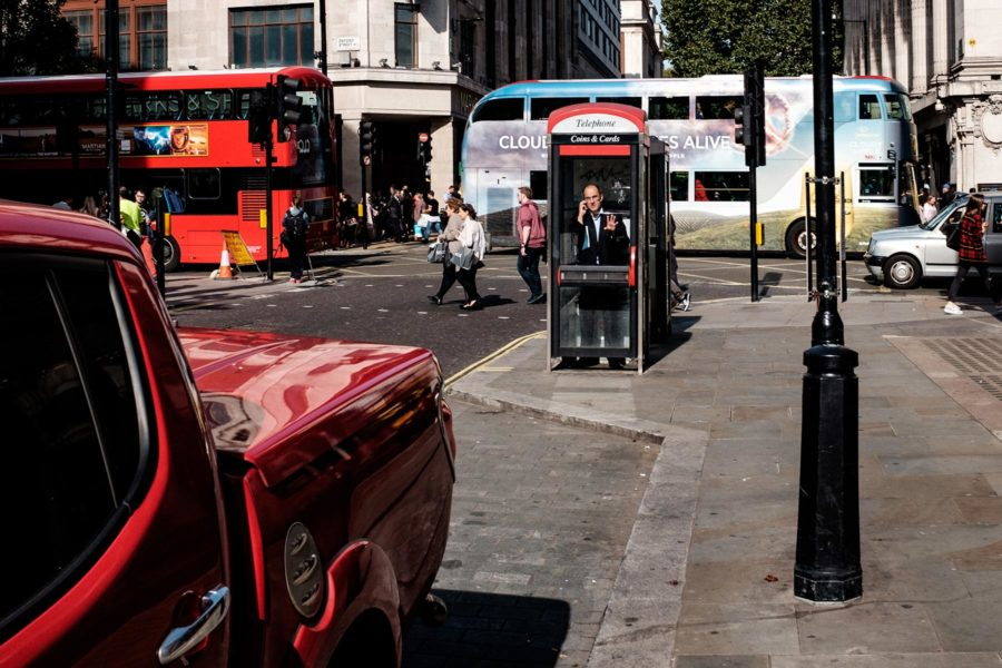 Katukuvaa Lontoosta. Kuva: Vadim Timoshkin, flickr.com, CC BY 2.0