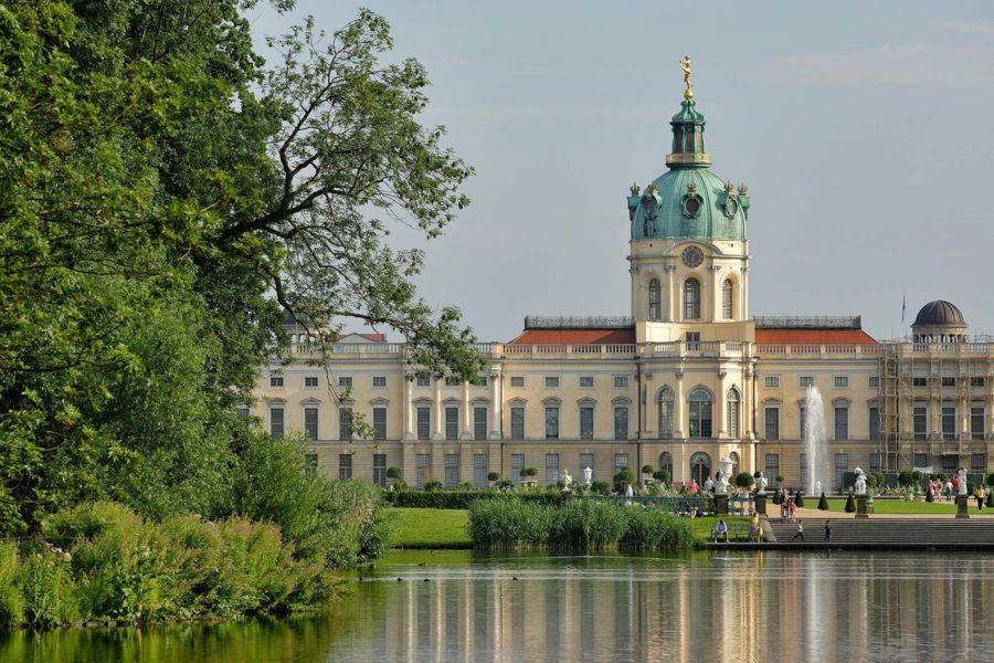Schloss Charlottenburg -linna. © visitBerlin, Wolfgang Scholvien