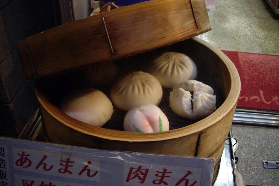 Kiinalaista ruokaa nautitaan myös Japanissa, etenkin Yokohaman Chinatownissa. Kuva: Daniel Rubio