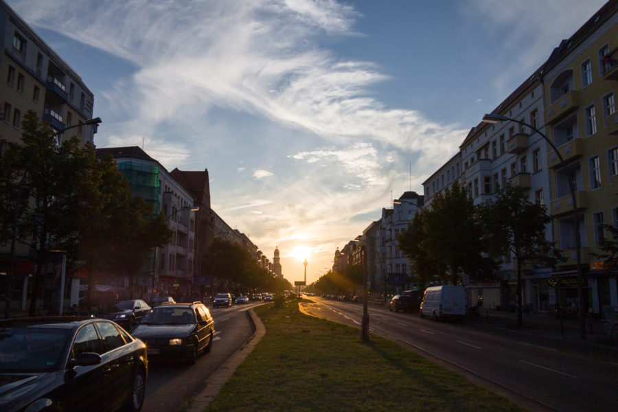 Frankfurter Allee Friedrichshainissa. © Erica Löfman