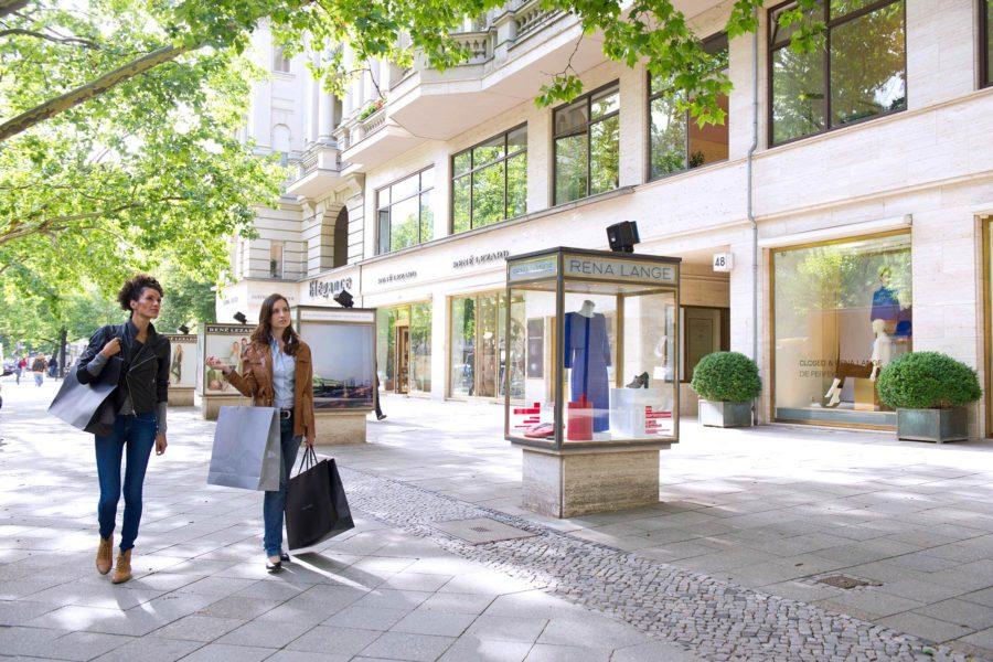 Kurfürstendamm-shoppailukatu. © visitBerlin, Philip Koschel