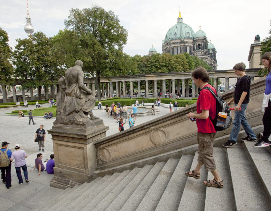 Museosaareke Mittessä. © visitBerlin, Günter Steffen