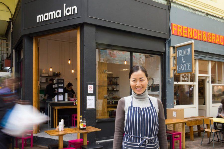 Mama Lan -ravintola Brixton Village Marketissa ©Milla Kontkanen