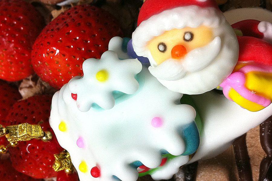 Japanilainen joulukakku. Kuva: kimubert, flickr.com, CC BY-SA 2.0.