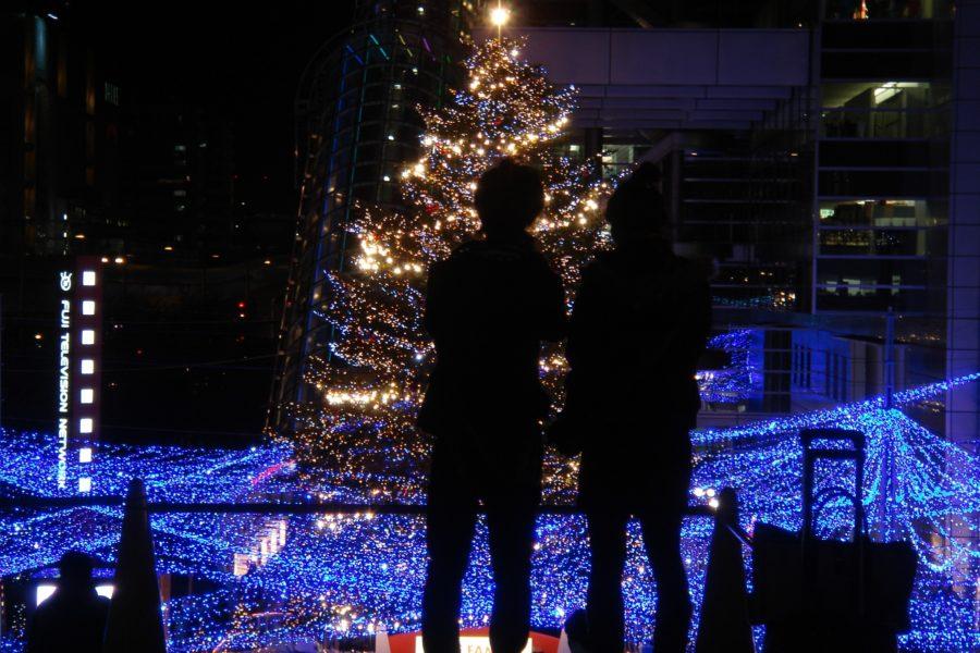 Tokion joulu on romanttisen loistelias. Kuva: Marufish, flickr.com, CC BY-SA 2.0.