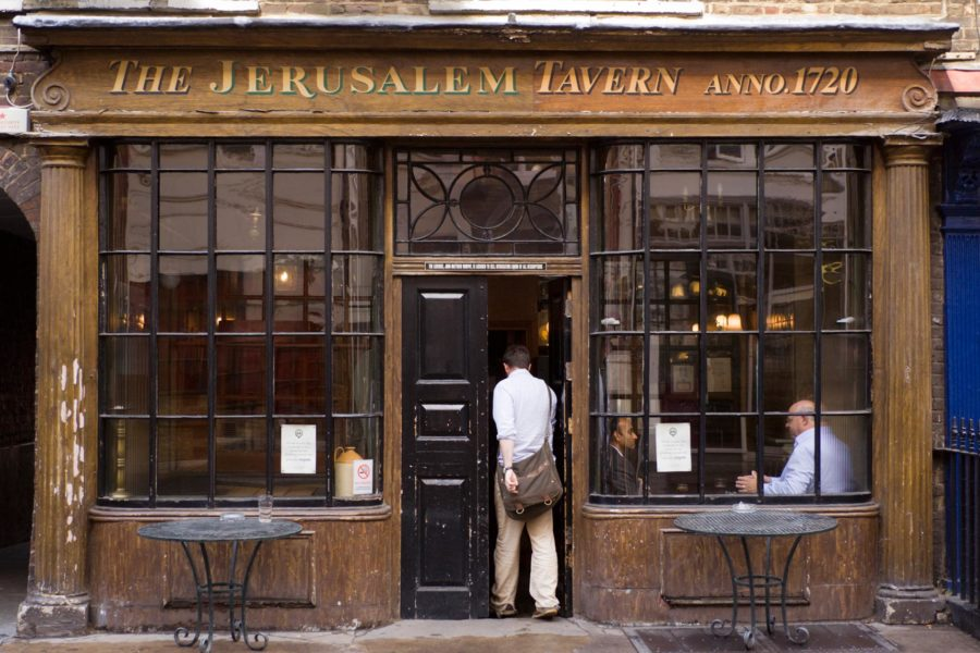 Jerusalem Tavern, Clerkenwell ©Milla Kontkanen