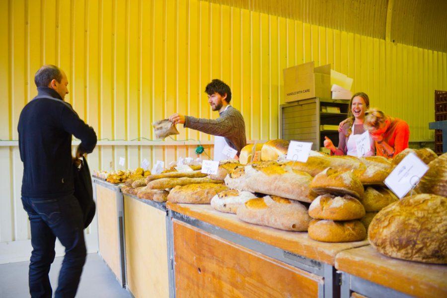 St Johnin leipäkauppa Bermondsey Maltby Street Marketilla ©Milla Kontkanen