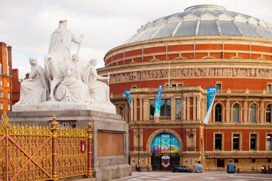 Royal Albert Hallin konserttisali South Kensingtonissa ©Milla Kontkanen