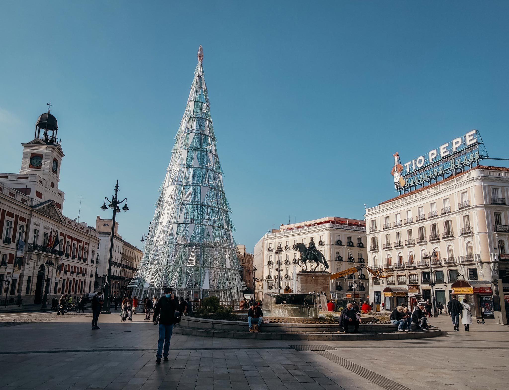 Puerta del Sol. Kuva: Alvaro Araoz, Unsplash