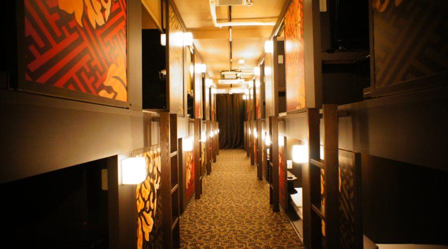Kapseleita kahdessa kerroksessa. Kuva: Centurion Cabin&Spa.