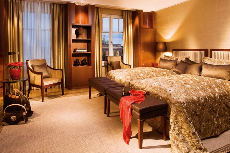 Hotelli Adlon Kempinski, Deluxe-sviitti. © Hotel Adlon Kempinski Berlin