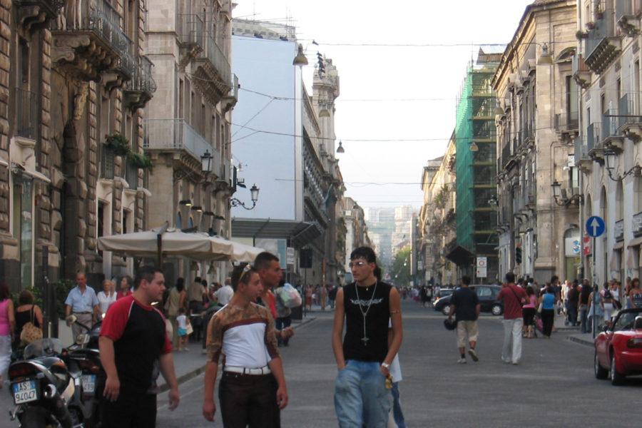 Cataniassa on paljon opiskelijoita © vic15 Flickr CC