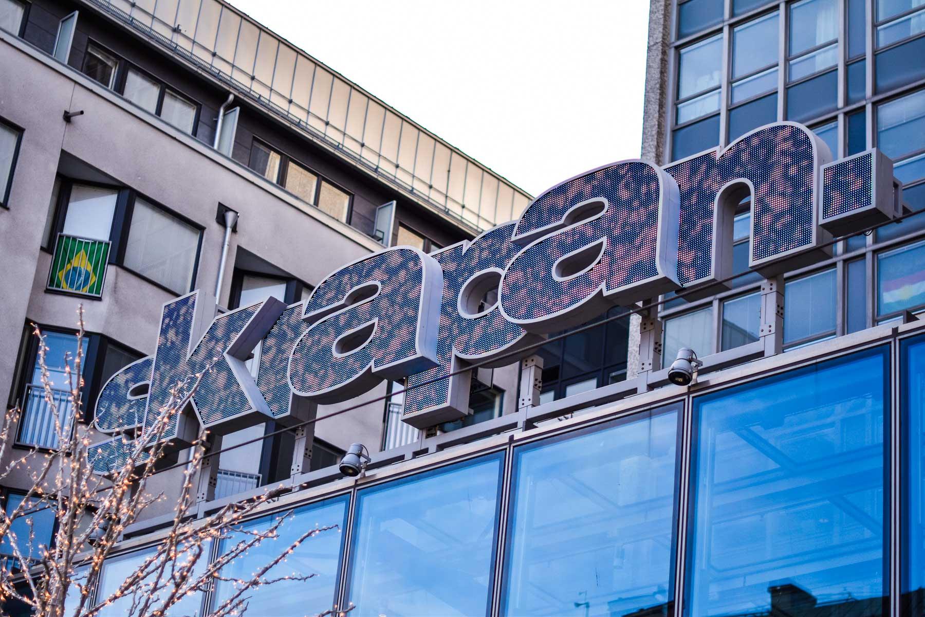 Kauppakeskus Skrapan Södermalmissa Tukholmassa. Kuva: ©Soile Vauhkonen