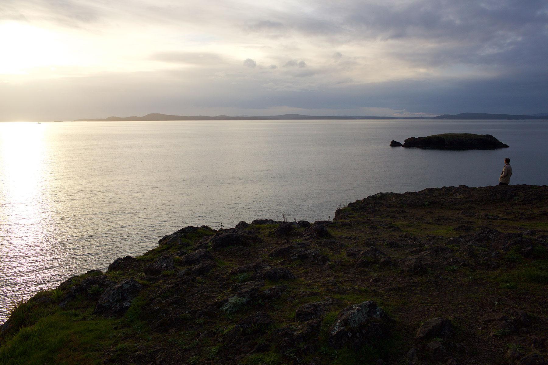 Deception Pass eli petollinen salmi sai nimensä, koska ensimmäiset tutkimusmatkailijat luulivat, että Whidbey oli niemimaa, ei saari. (c) Alex Kampion/tripsteri.fi