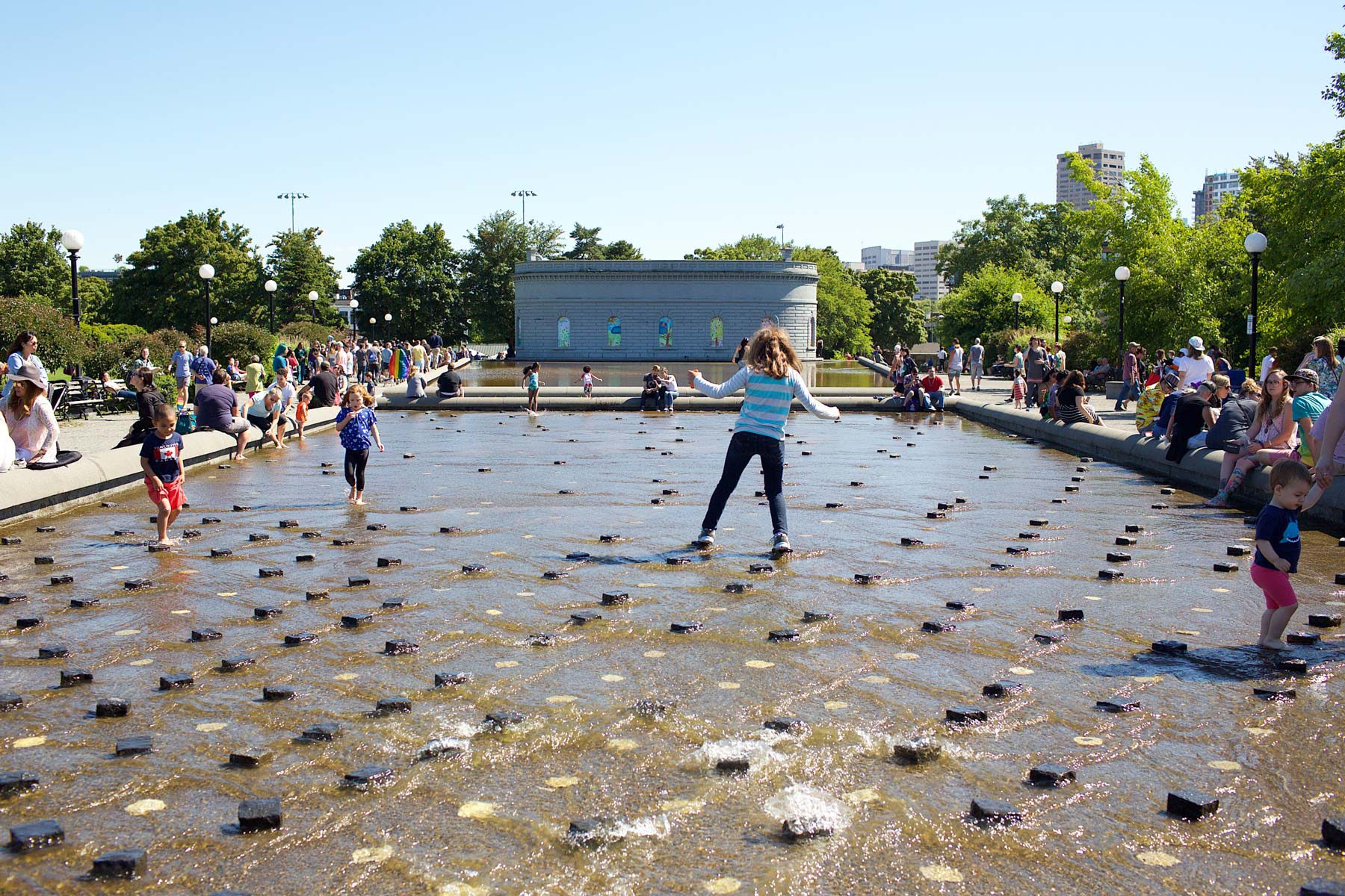 Cal Andersonin puisto sijaitsee Capitol Hillin sydämessä. (c) Alex Kampion/tripsteri.fi