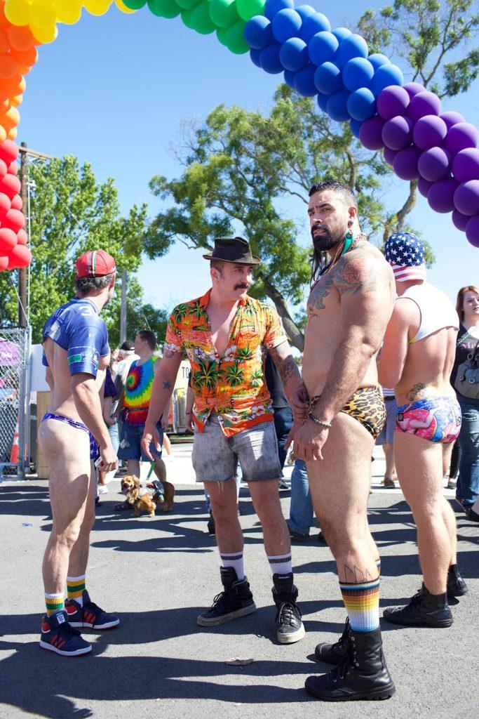 Pride-festivaalikansaa Capitol Hillillä. (c) Alex Kampion/tripsteri.fi