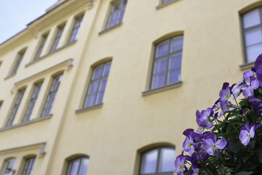 Hotel Långholmen on entinen vankila. Kuva: www.langholmenc.om