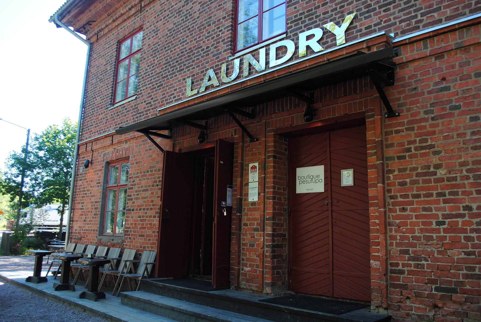 Laundry Fiskars Café Bar