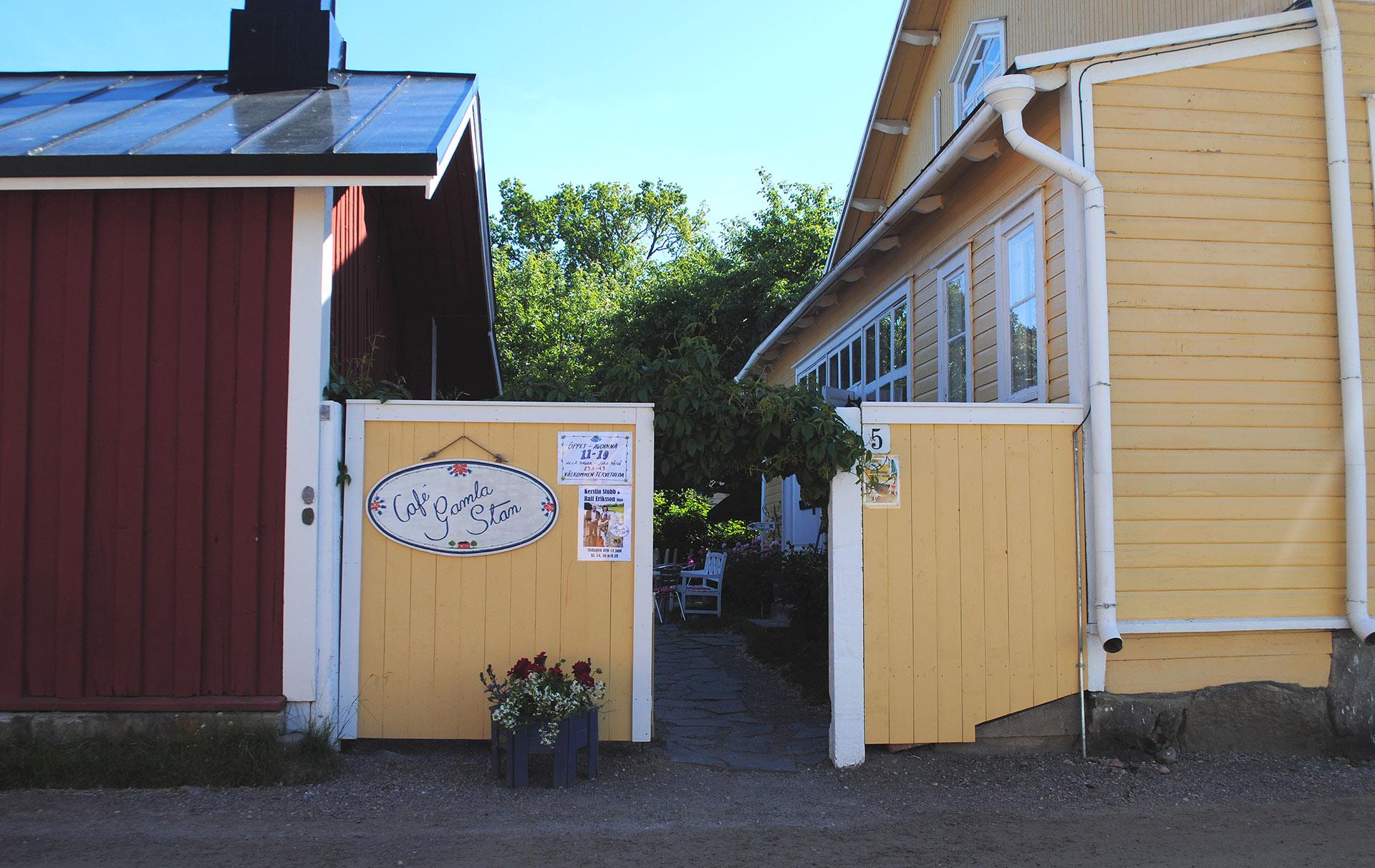 Café Gamla Stan. Kuva: Reetta Kemppi.