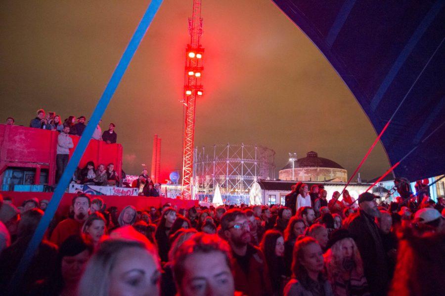 Morrisseyn keikalla. Flow Festival 2016 © tripsteri.fi / Tuulia Kolehmainen