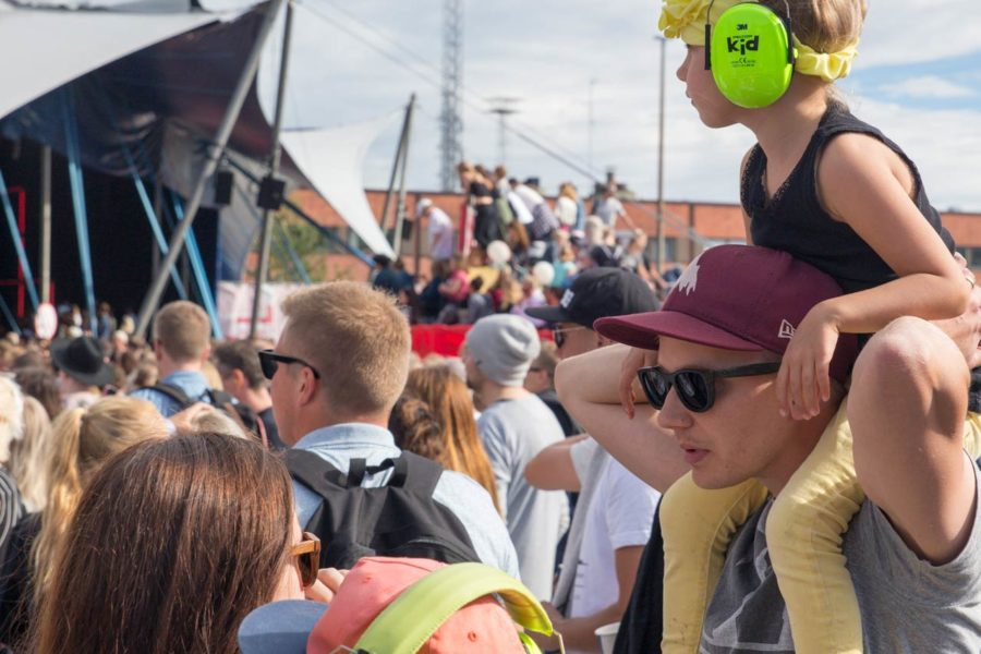 Perhesunnuntai. Flow Festival 2016 © tripsteri.fi / Tuulia Kolehmainen