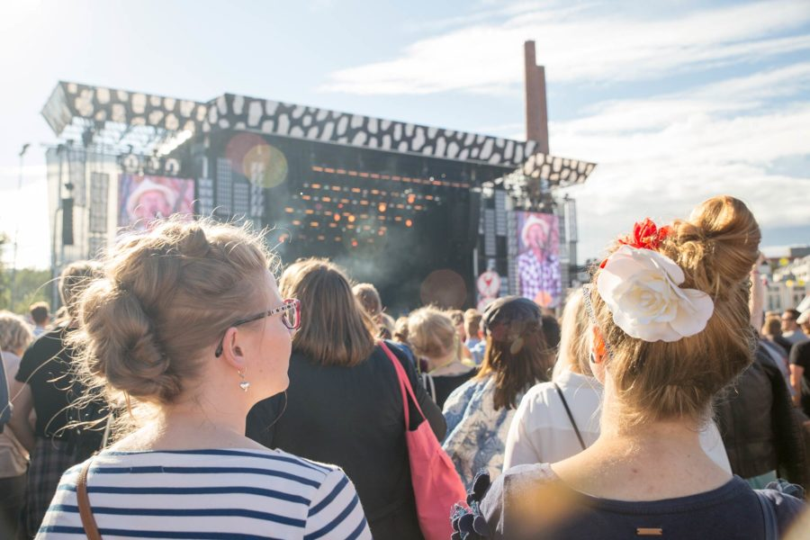 J. Karjalaisen keikalla Flow Festival 2016 © tripsteri.fi / Tuulia Kolehmainen