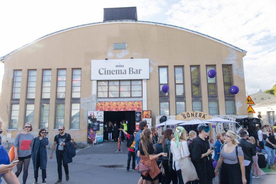 Riviera Cinema Bar Flow Festival 2016 © tripsteri.fi / Tuulia Kolehmainen