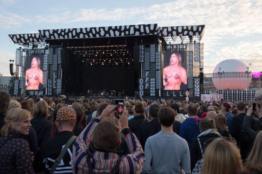 Iggy Pop. Flow Festival 2016 © tripsteri.fi / Tuulia Kolehmainen