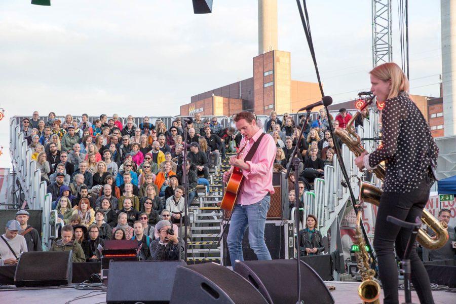 Mopo & Ville Leinonen. Flow Festival 2016 © tripsteri.fi / Tuulia Kolehmainen