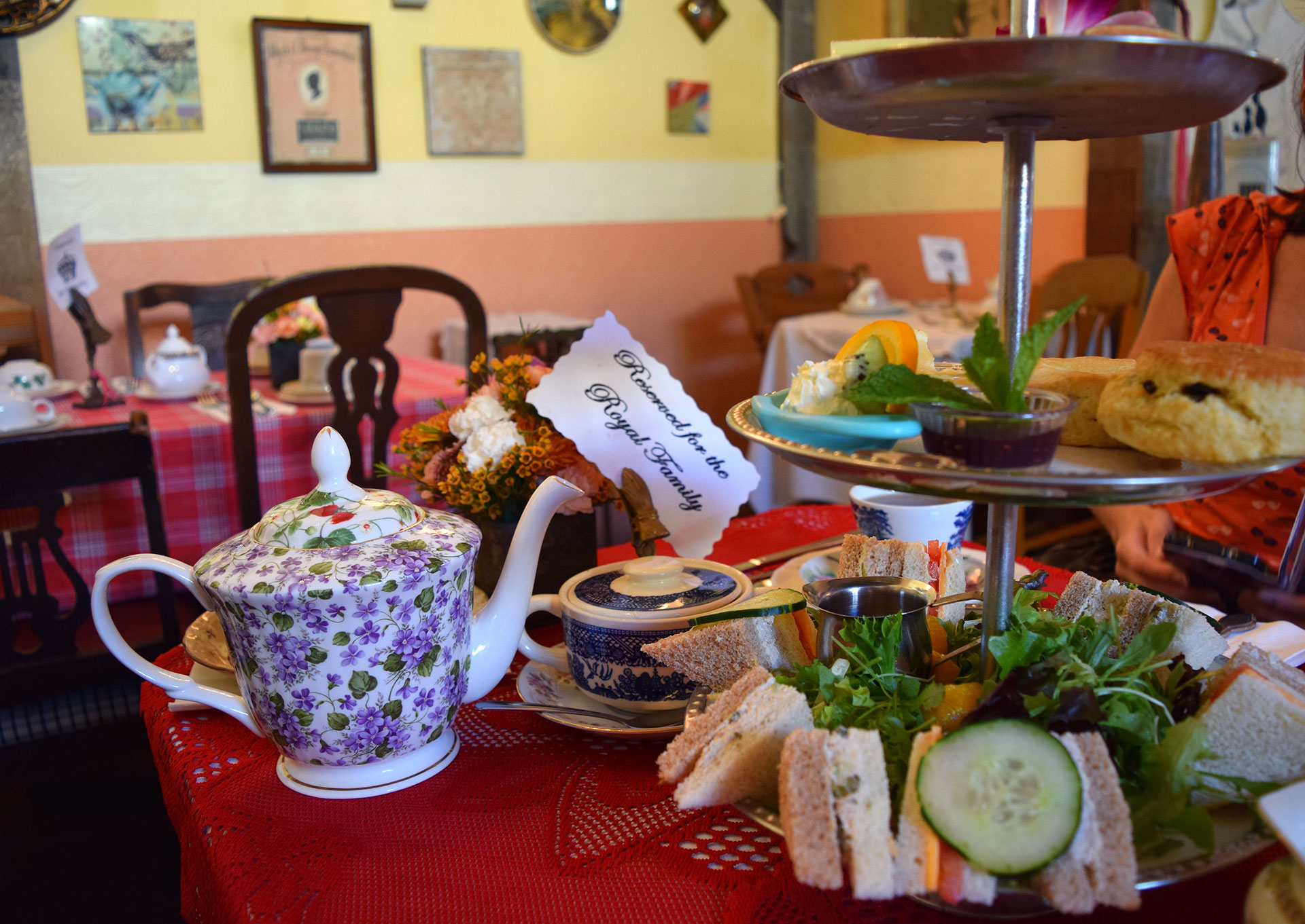 Lovejoy's Tea Room on söpö lounas- ja teepaikka. Kuva: Reetta Kemppi