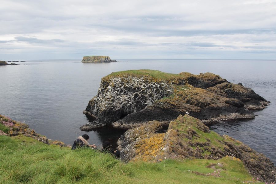 Pohjois-Irlannin rannikon maisemia. © tripsteri.fi / Moona Laakso