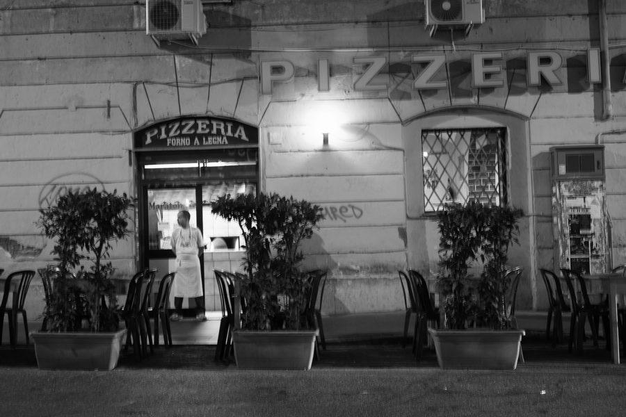Roomalaisissa pizzerioissa on aina puu-uuni, forno a legna © Sigfrid Lundberg Flickr cc