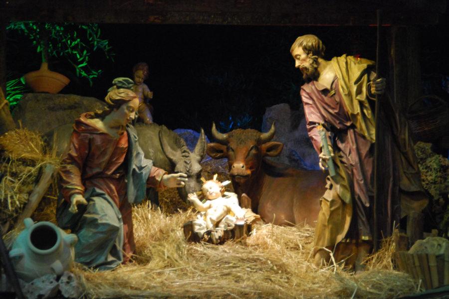 Jouluseimet ovat tärkeä osa italialaista joulua © Trishhhh Flicr CC