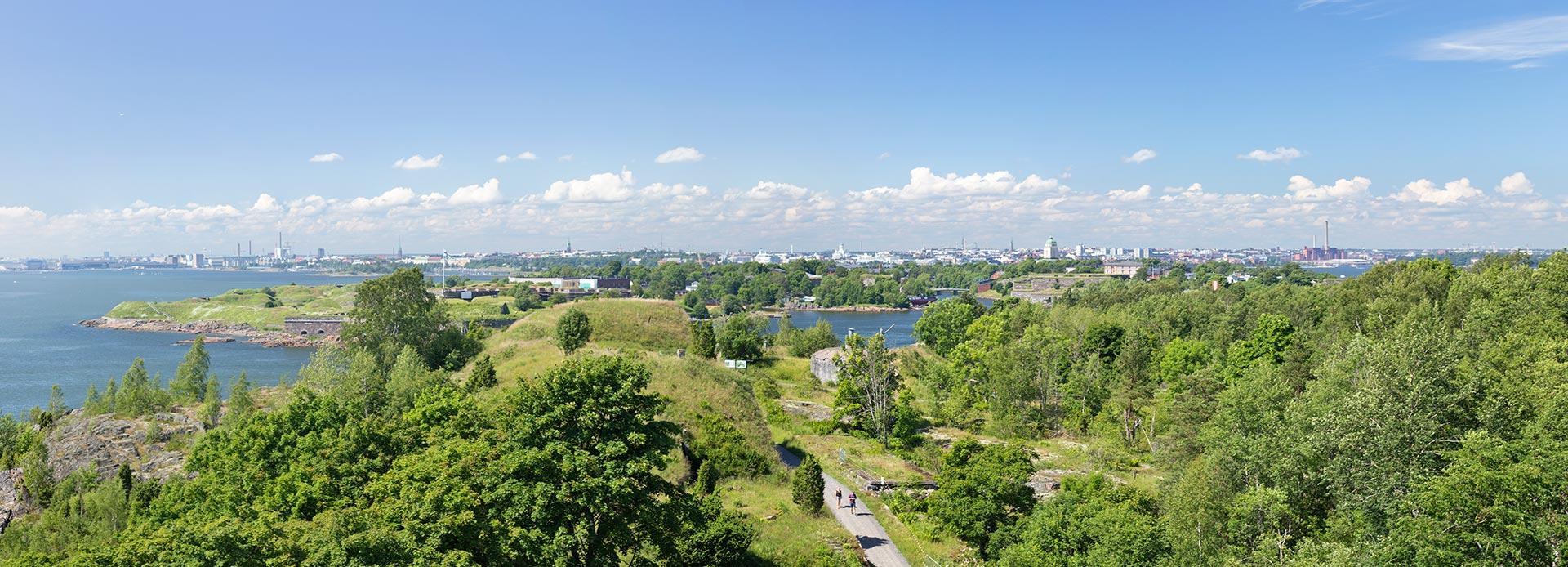 Näkymä kaupunkiin Vallisaaresta. © Tuulia Kolehmainen / tripsteri.fi