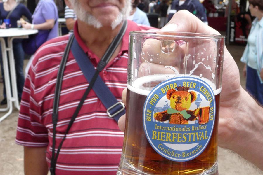 Biermeile-olutfestari on aina elokuun alussa. Kuva: Erica Löfman