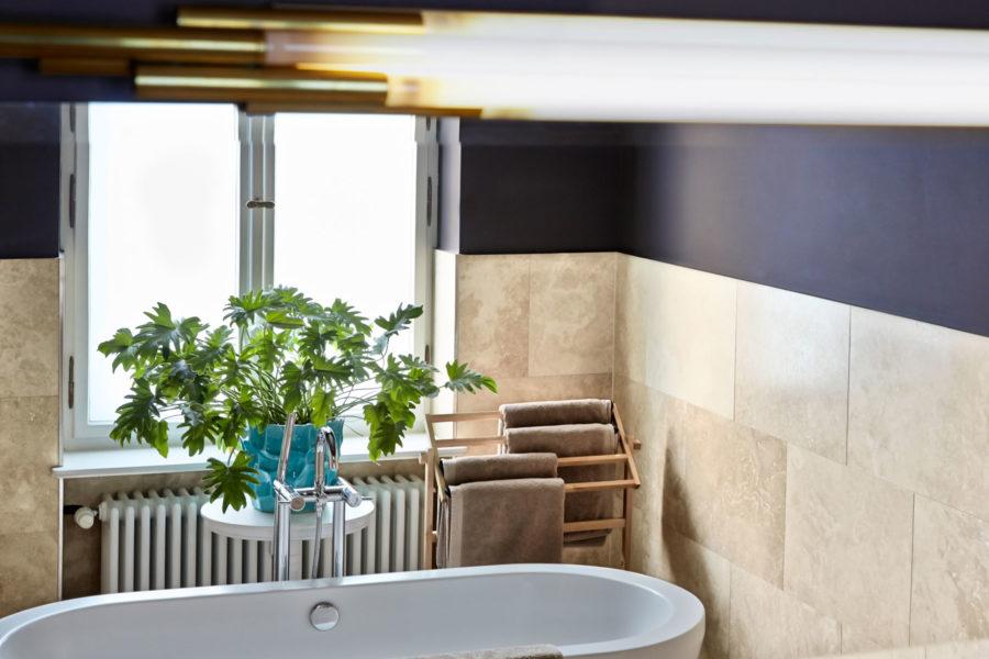 Linnen-hotellin kaikki huoneet ovat yksilöllisesti sisustettuja.