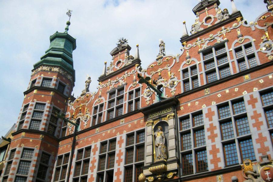 Gdanskin taideakatemia. Kuva: Osmar Valdebenito, Flickr.com CC BY-SA 2.0