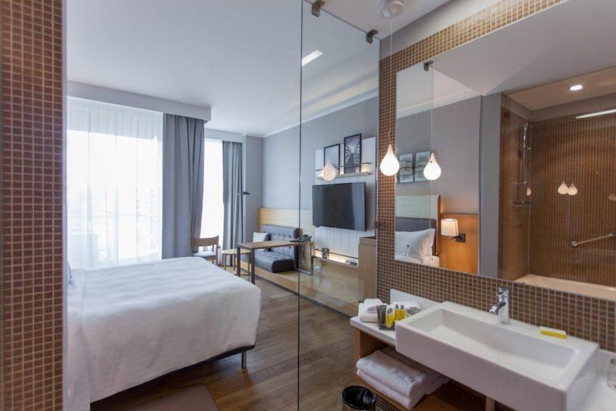 Kylpyhuone©Sopot Marriott Resort & Spa