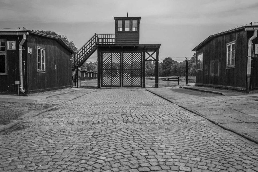 Stutthof-työleirin pääsisäänkäynti. Kuva: Mariusz Cieszewski, Flickr.com CC BY-ND 2.0