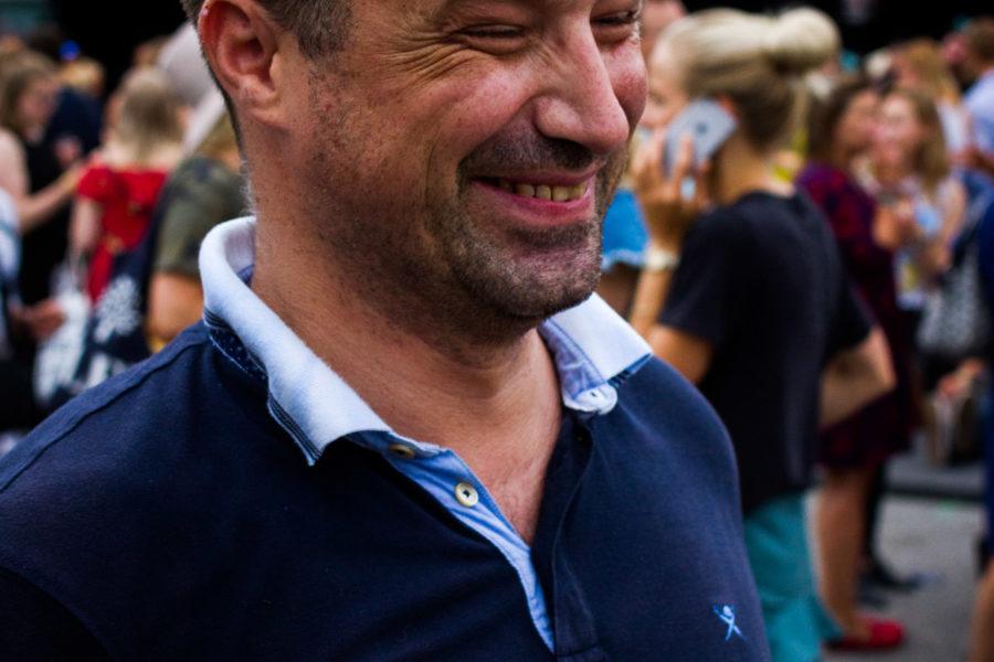 Sveitsiläinen Patrick oli Flow'ssa viidettä kertaa. © Aapo Kojo