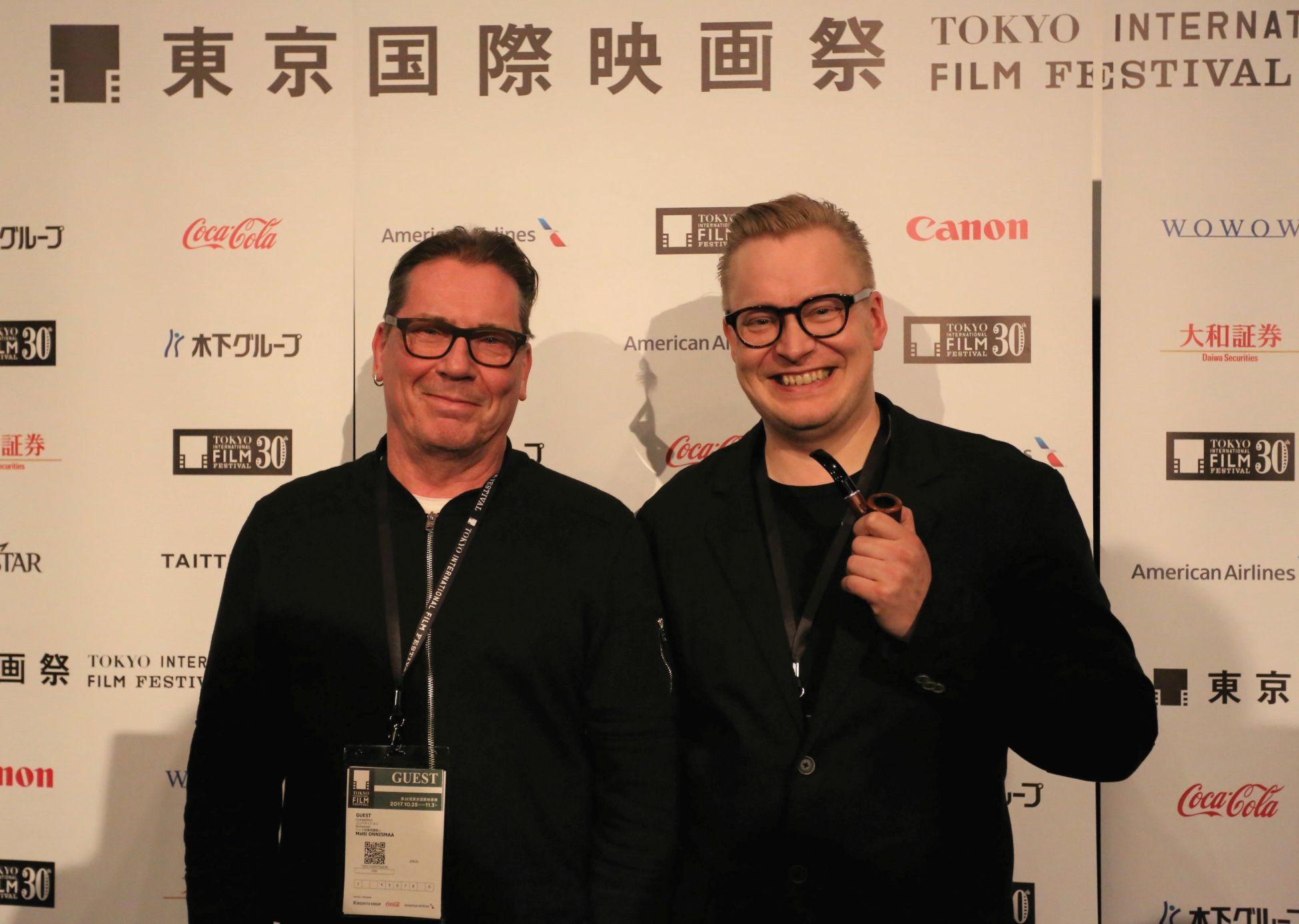 Teemu Nikki ja Matti Onnismaa (c)2017 TIFF